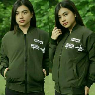 Jaket bomber private