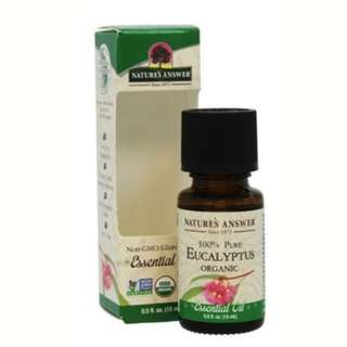 Nature's Answer Organic Eucalyptus Essential Oil 15 ml