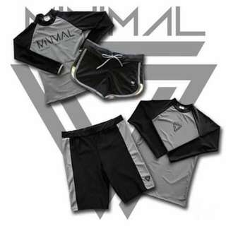Couple rashguard sets