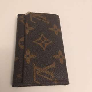 Authentic vintage Louis Vuitton key holder
