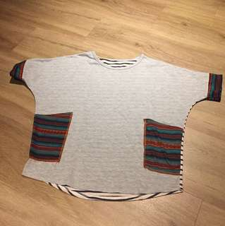 Designer style Size XL loose top