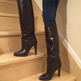 Vintage Italian Leather Boots
