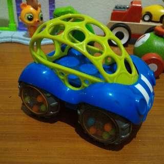 Mainan Mobil Hijau Biru