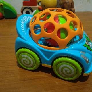 Mainan Mobil Grib Orange
