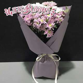 Fresh Flower Bouquet Surprise for Special Anniversary Birthday Gift V111 - FEUAE