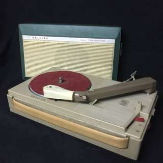 VINTAGE PORTABLE RECORD PLAYER (RENTAL)