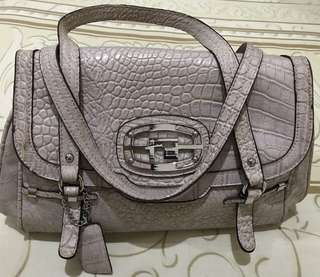 Tas handbag croco leather