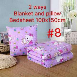 2 way blanket and pillow