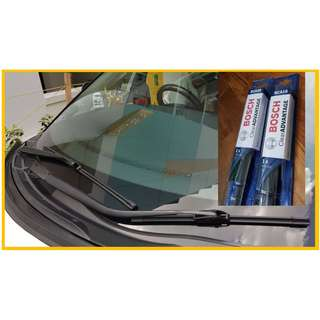Estima Premium Bosch Wipers 28 & 16 inch (Frameless Aerotwin grade)