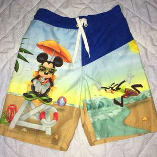 Mickey Boardshorts for boys (size XS)