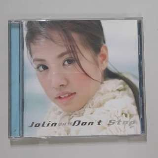 "Jolin ""Don't stop"" music CD"