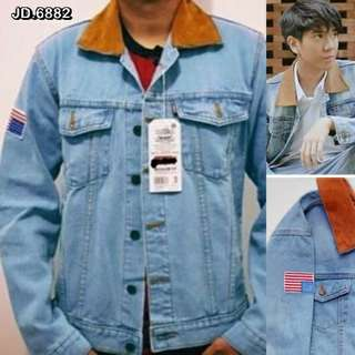 Jaket Dilan Milea 1990 Hot Baru dg Patch Bendera USA - size XL L