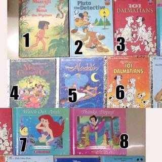 Children's story book hardbound Disney
