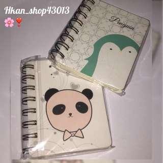 🐧熊貓或企鵝筆記本🐼