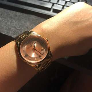 MK Rose Gold Watch for Her