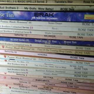 Rose tan books