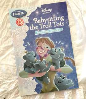 Charity Sale! Babysitting the Troll Tots Adventures in Reading Disney Frozen Level 3