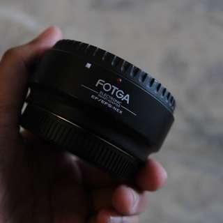 FOTGA Lens Adapter Canon EOS EF - Sony NEX
