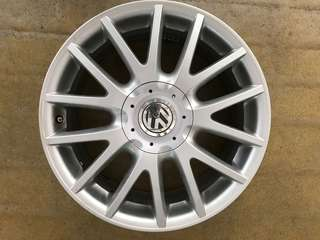 "17"" 5x112 vw oringinal wheel $80pc"