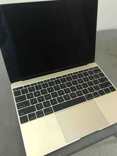12' Macbook pro 2017 128gb