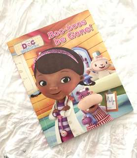Charity Sale! Doc McStuffins Boo-boos be Gone! Disney Children's Book