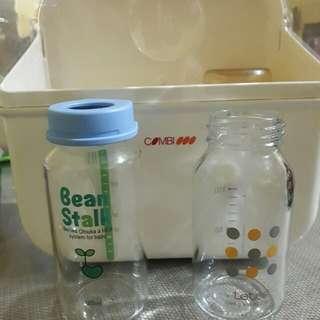 2 Feeding Bottle + Microwave Sterilizer