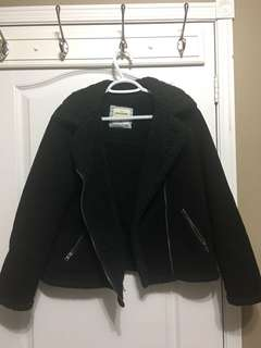 ABERCROMBIE AND FITCH SHERPA COAT