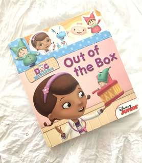 Charity Sale! Disney Doc McStuffins Out of the Box Children's Book