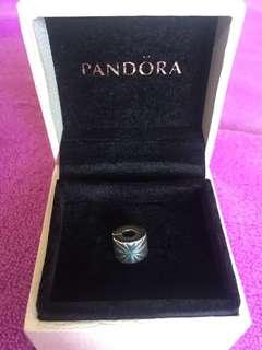 Pandora Silver Firework Clip Charm