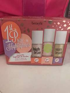 Benefit 3 Mini Highlighters