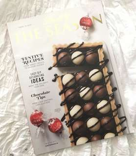 Charity Sale! Lindt Chocolate Baking Cooking Recipes The Season Magazine