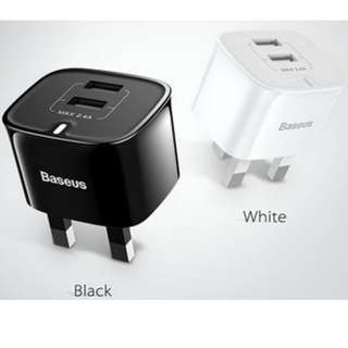 Two USB double charger 2.4A $40 face trade Free mail $45