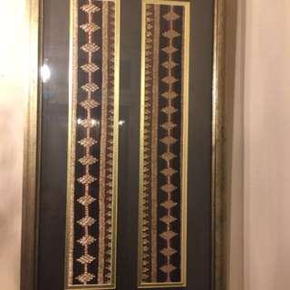 Antique textile Indonesia Songket Tapis Lampung