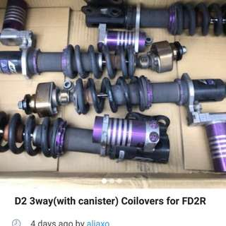 COILOVERS FOR FD2R