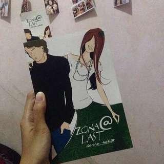 Novel Teenlit series Zona