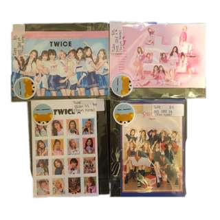 twice post card & sticker