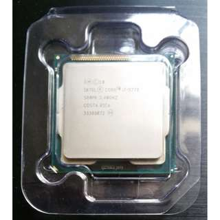 Intel® Core™ i7-3770 Processor 8M Cache, up to 3.90 GHz