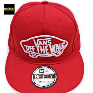 TOPI SNAPBACK VANS OF THE WALL