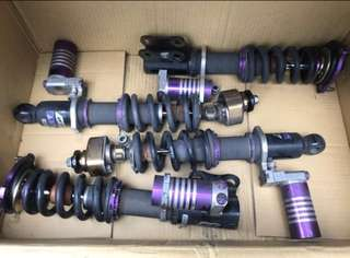 D2 3way(with canister) Coilovers for FD2R