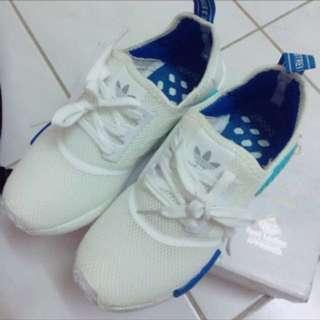 白藍nmd