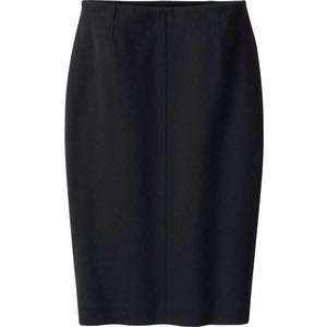 Uniqlo women ponte pencil skirt (black)