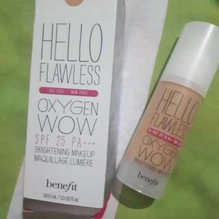 Authentic Hello Flawless Oxygen wow