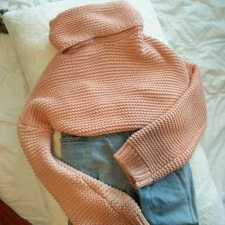 Heavy Knit Turtle Neck