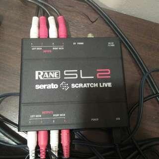 Rane SL 2 Serato Box