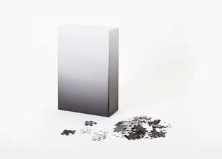 Minimal Gradient Puzzle - Black/White ◼️◻️