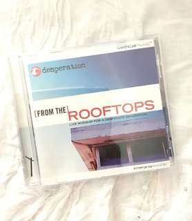 Charity Sale! Desperation Band From the Rooftops Audio Digital CD Christian Album