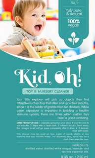 Natural infused cleaning and health agent