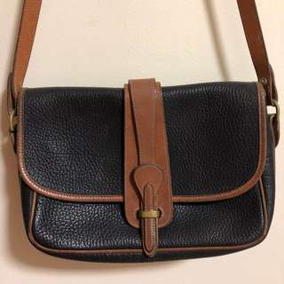Vintage Leather Sling Bag