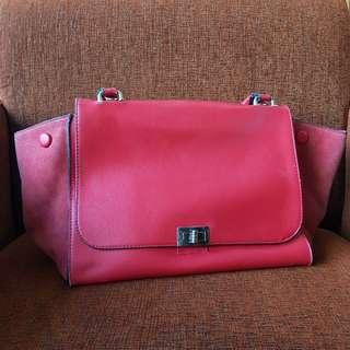 RED CELINE BAG (Semi Premium Not Original)