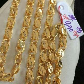 """SAUDI GOLD SPL NECKLACE """" INVEST NOW"""""""